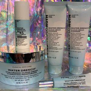 NWOB Peter Thomas Roth Water Drench bundle eye gel